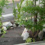 枕木小径の庭のイメージ