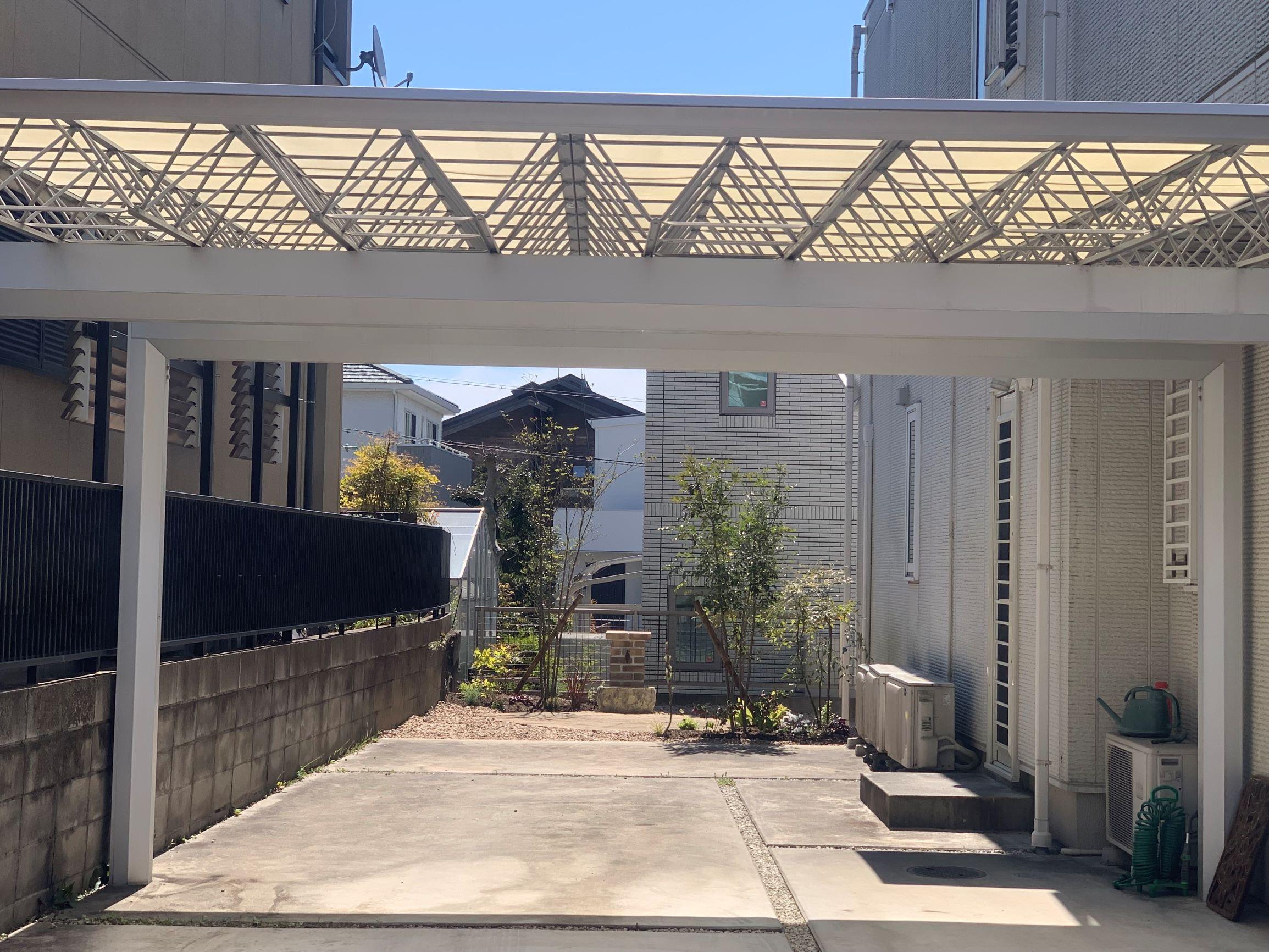 日進お庭の再生。リガーデン。完了。のイメージ